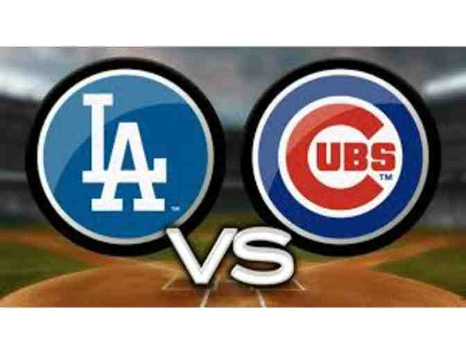 Dodgers vs. Cubs - Four Tickets - Photo 1