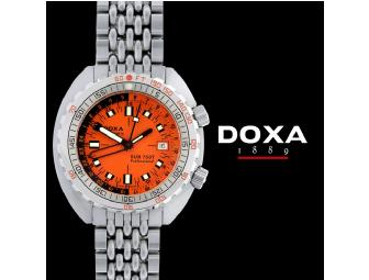 Limited Edition DOXA SUB 750T GMT Professional Watch
