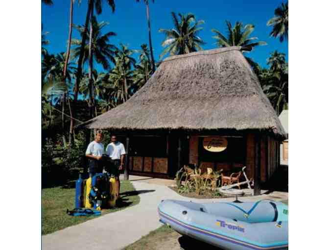 7 night tropical vacation at the Jean-Michel Cousteau Resort, Fiji