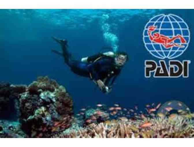 PADI Open Water DIver eLearning SCUBA Course