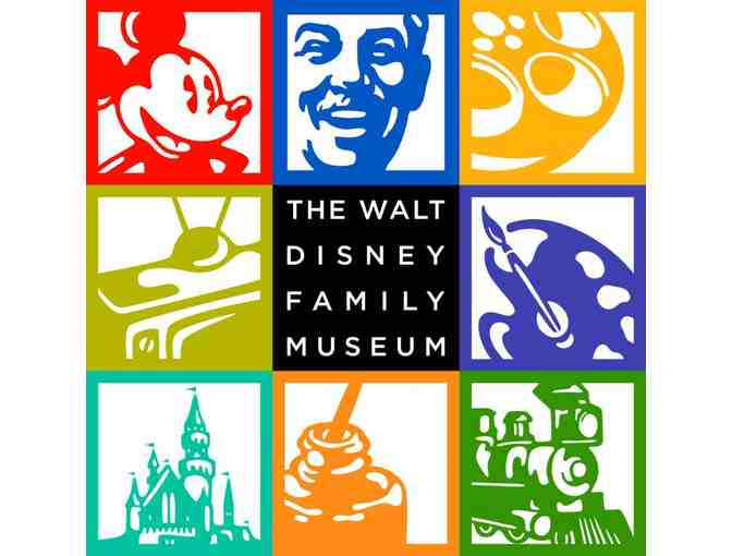 4 General Admission Tickets to The Walt Disney Family Museum - Photo 1