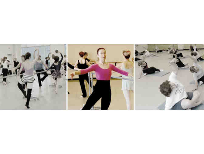 10 Adult Drop-In Classes at Maryland Youth Ballet