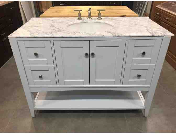 Bathroom Vanity & Sink from KBR Kitchen + Bath