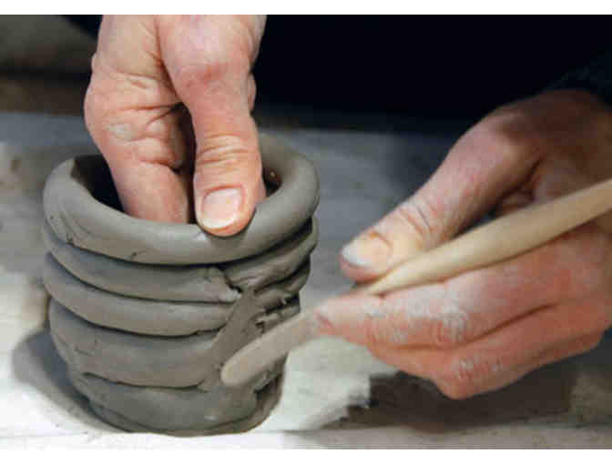 5 Hand-Building Pottery Sessions for 4