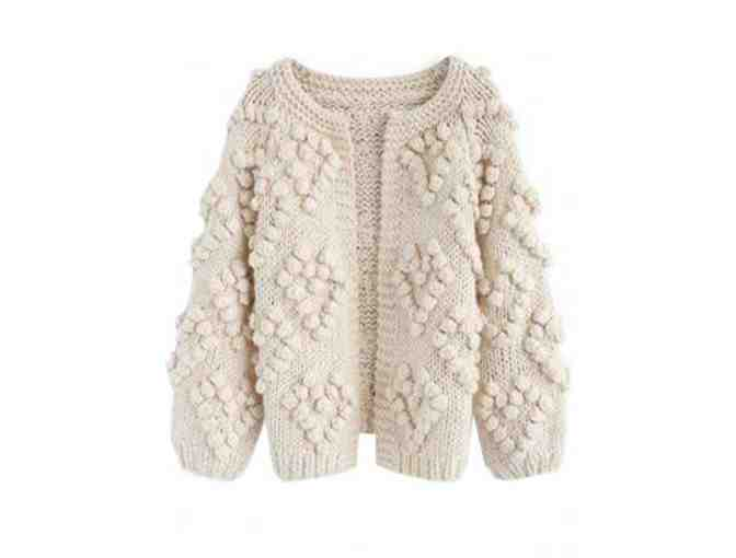Cream Cardigan from Goodnight Macaroon