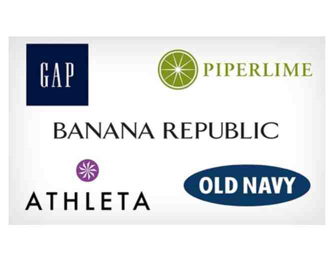 $50 Gift Card to Gap, Old Navy, or Banana Republic