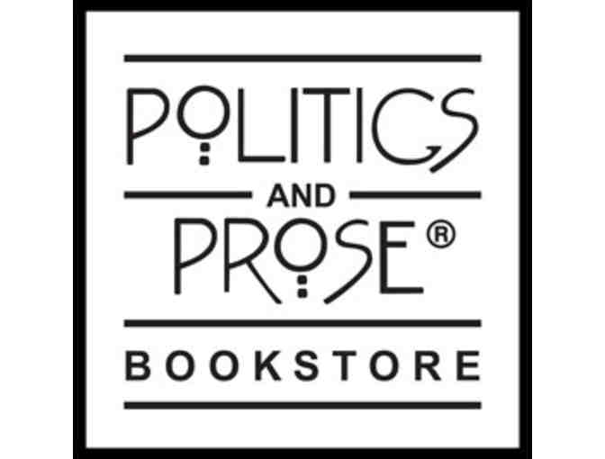 2 Tickets to an Author Reading at Politics & Prose - Photo 1