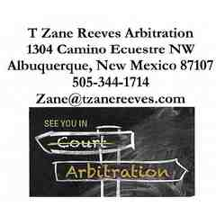 T. ZANE REEVES ARBITRATION