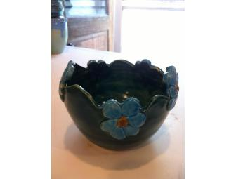 Fire Flower Votive (Blue)