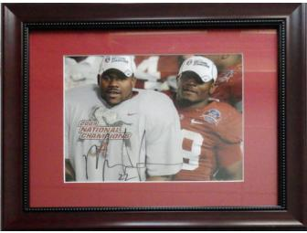 Autographed Mark Ingram - Framed 8x10