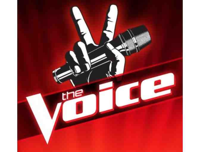 THE VOICE - 2 VIP Tickets to Live Taping on Monday, May 14th . Bidding closes Tonight!! - Photo 1