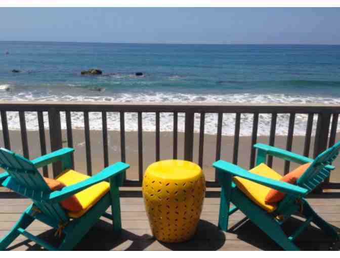 Malibu Oceanfront Home w/Private Beach!  2 Night Stay