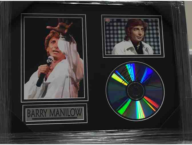 Barry Manilow Signed Framed Photo/CD