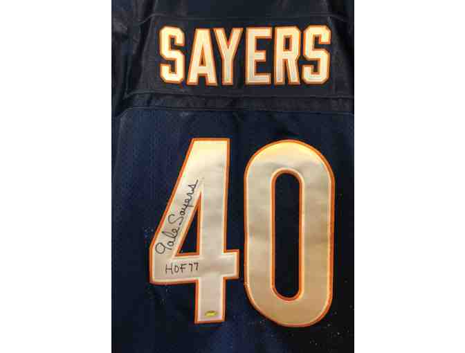 Gale Sayers Autographed NFL Game Style Jersey with Certificate