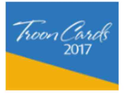 2017 Troon Foursome Card