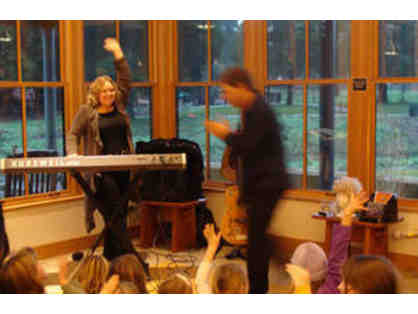 20 minute Concert for Kids by The Levins via Zoom.