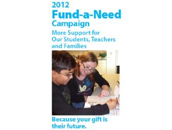 Fund-A-Need Donation - $36