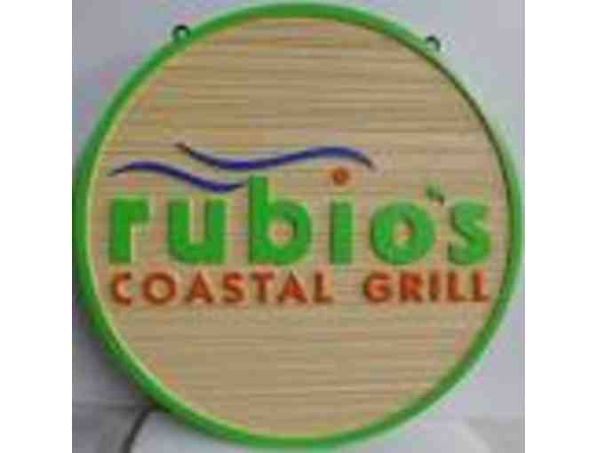 Rubio's Coastal Grill ~ (4) Four Pack of Meal Vouchers - Photo 1