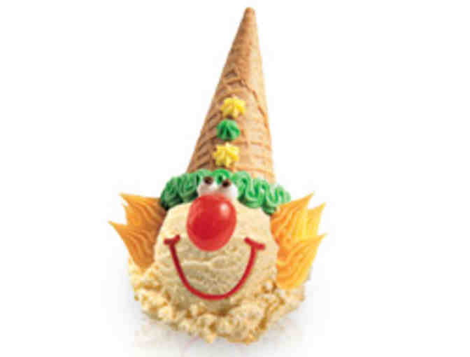 Baskin Robbins ~ Petaluma ~ Gift Cert. for (12) People to Learn How to Make Clown Cones - Photo 2