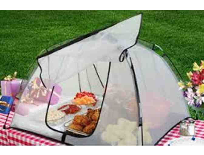Camping Gift Set ~ Weber Go Anywhere Gas Grill, Tools, Set of 2 Backpack Chairs, Food Tent - Photo 4