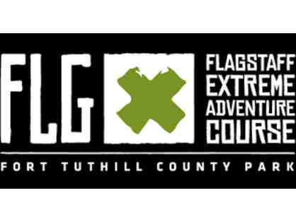 Flagstaff Extreme Adventure Course-three passes to Adventure Course