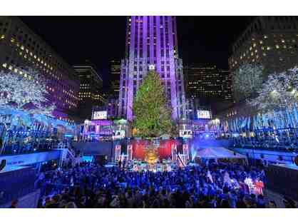 Rockefeller Center Tree Lighting Gala for two -New York City