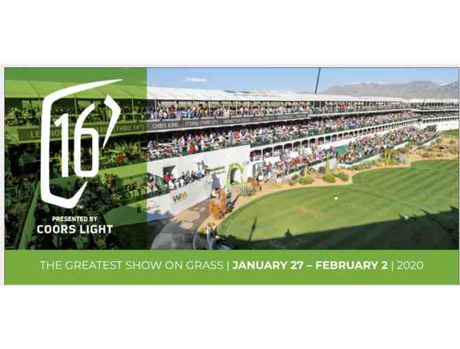 Waste Management Phoenix Open (2) Sky Box #16 Tickets w/ parking