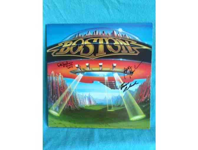 Autographed Boston Album