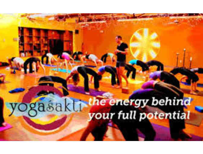 YogaSakti - Intro Month of Fitness & Yoga Classes