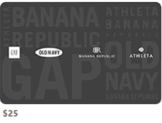 $25 Gift Card - Old Navy/Gap