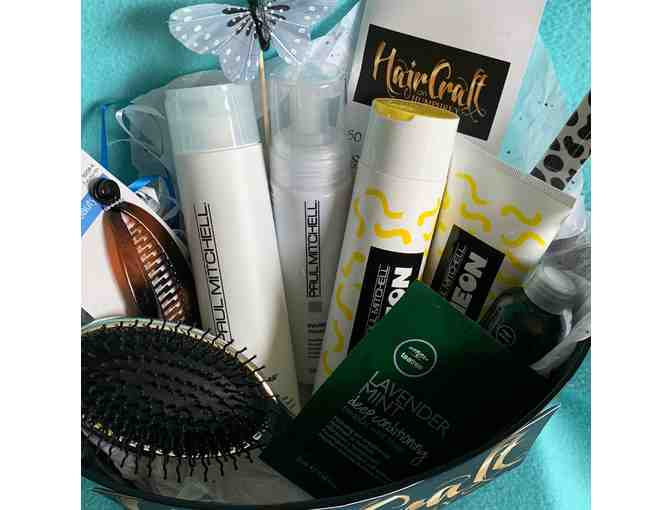 Hair Care Basket & $55 Gift Certificate