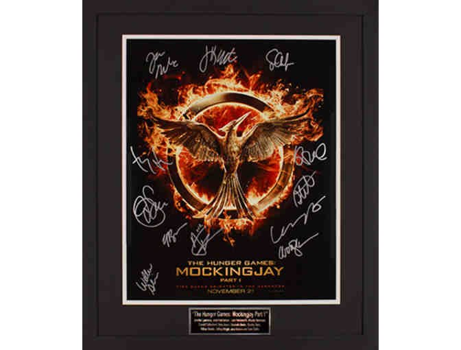 The Hunger Games Mockingjay Part 1 Movie Poster - Signed by Cast
