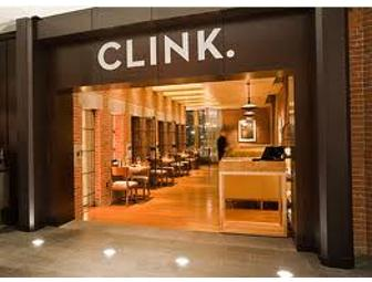 A Night at The Liberty Hotel and Dinner at CLINK