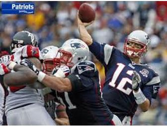 4 Tickets to a 2012 New England Patriots Game