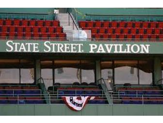 2 State Street Pavillion Tickets to a Red Sox Game