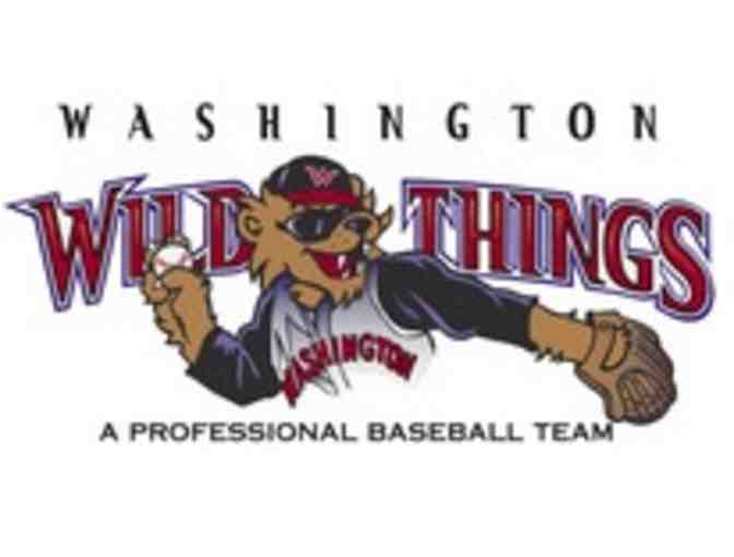Four Tickets for Admission to Washington Wild Things