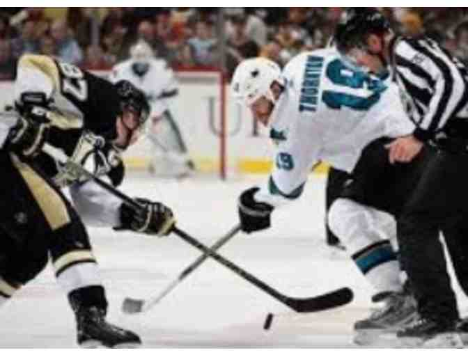 Two Captain Morgan Club Tickets to Penguins vs. Sharks on Thursday, January 2, 2020