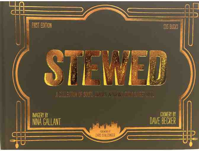 Sweet Basil $50 Gift Certificate and Signed Copy of Stewed By Dave Becker - Photo 2