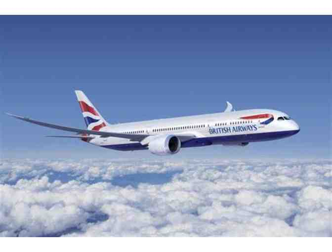 British Airways - 2 Round Trip World Traveler Plus Tickets, NY to London - value $1800
