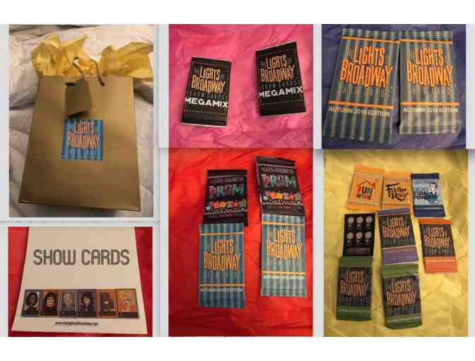 Broadway Goes Pop & The Lights of Broadway Show Cards Gift Bag