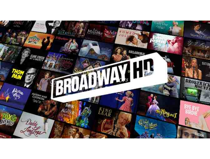 Broadway HD year subscription!