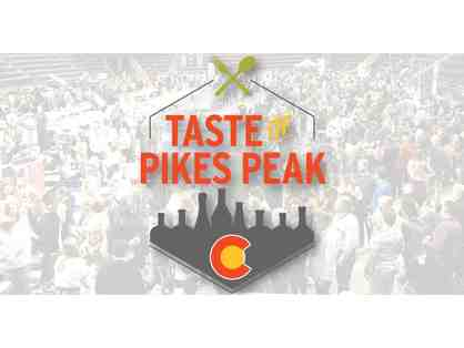 Taste of Pikes Peak 2020 VIP Tickets for TWO