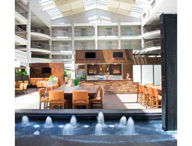 Embassy Suites Weekend Getaway ~ TWO nights, Breakfast, & Cocktails plus $25 credit