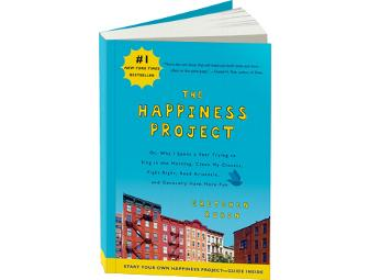 Autographed copy of The Happiness Project