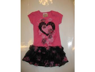 Girls Beautees Tutu Dress - Size 4