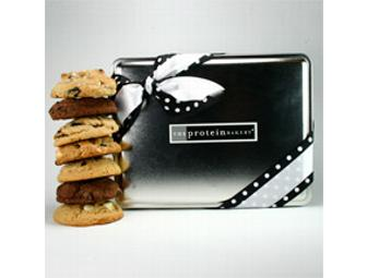 The Protein Bakery - The O-List Gift Tin of Cookies