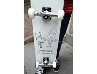 Milo Blue Skate NYC Custom Skateboard