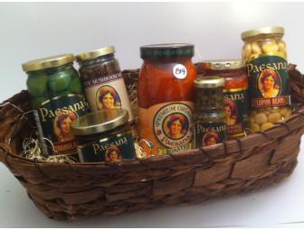 Paesana All Natural Italian Basket