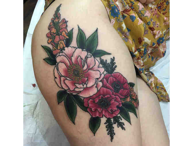$100 Tattoo Gift Certificate at Three Kings Tattoo - Photo 1
