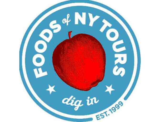 Foods of NY Tour- 2 tkts